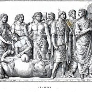 aruspicina, disciplina etrusca