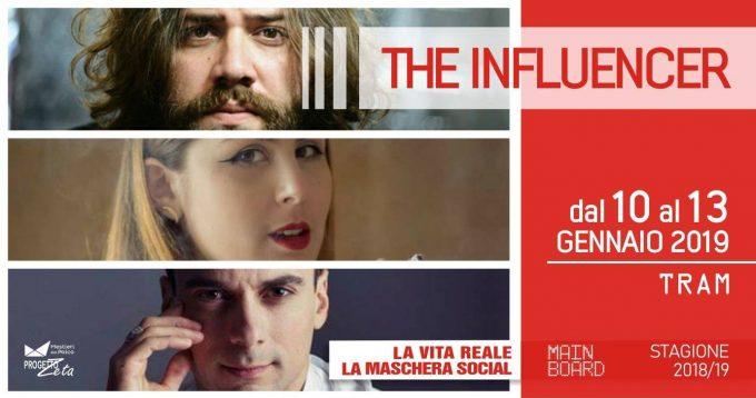 """The Influencer, recensione dello spettacolo di Daniele Marino """"Io sono i miei followers. Io sono i miei like. Io sono…"""""""