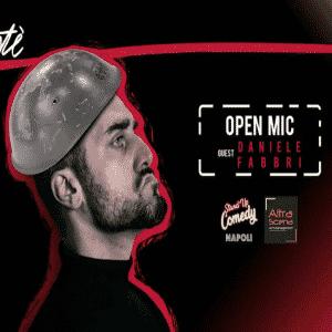 open mic con Daniele Fabbri