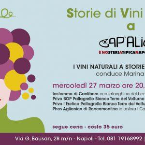 I Vini Naturali della Campania a Cap'alice – Tre cantine per tre vini in più annate