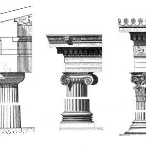 Capitello ed ordine architettonico: dorico, ionico e corinzio