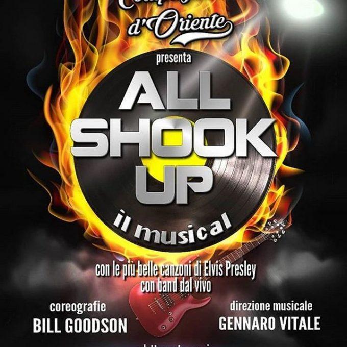 """""""ALL SHOOK UP - il musical"""" al Teatro Acacia di Napoli"""