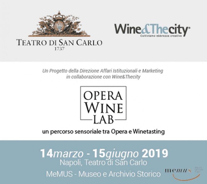 OPERA Wine - LAB, il mondo dell'Opera incontra quello del vino