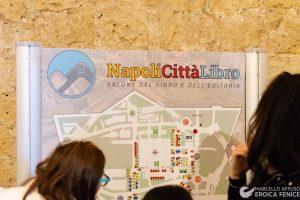 Davide Mazzocco e Giancarlo De Cataldo a NapoliCittàLibro
