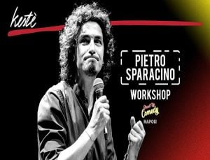 Stand Up Comedy: Workshop e Open Mic con Sparacino