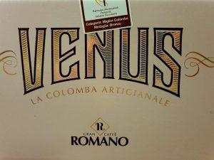 Gran Caffè Romano, dettaglio colomba