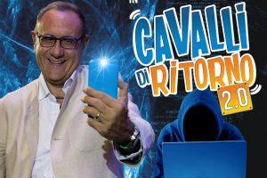 """""""Cavalli di ritorno 2.0"""", Gino Rivieccio dal 26 aprile all'Augusteo"""