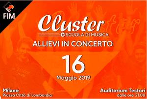 La scuola di musica Cluster al FIM con una serata speciale