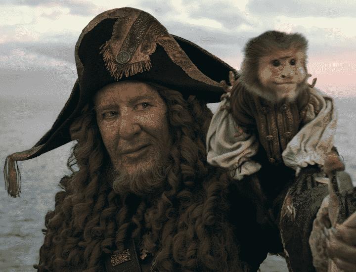 Capitan Barbossa: l'ironico Hector dei Pirati dei Caraibi
