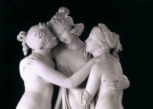Le Tre Grazie: l'armonia per dèi e uomini