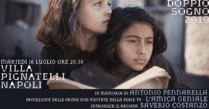 Saverio Costanzo, il regista de L'amica geniale a Villa Pignatelli