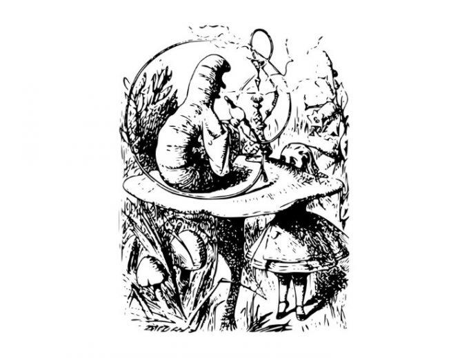 Il Brucaliffo: saggio ed istrionico personaggio di Lewis Carroll
