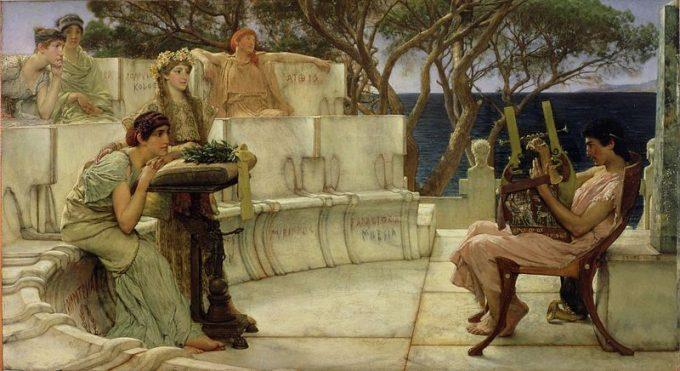 Alceo e Saffo