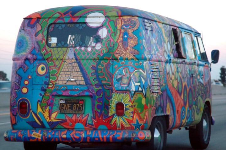 pulmino hippie
