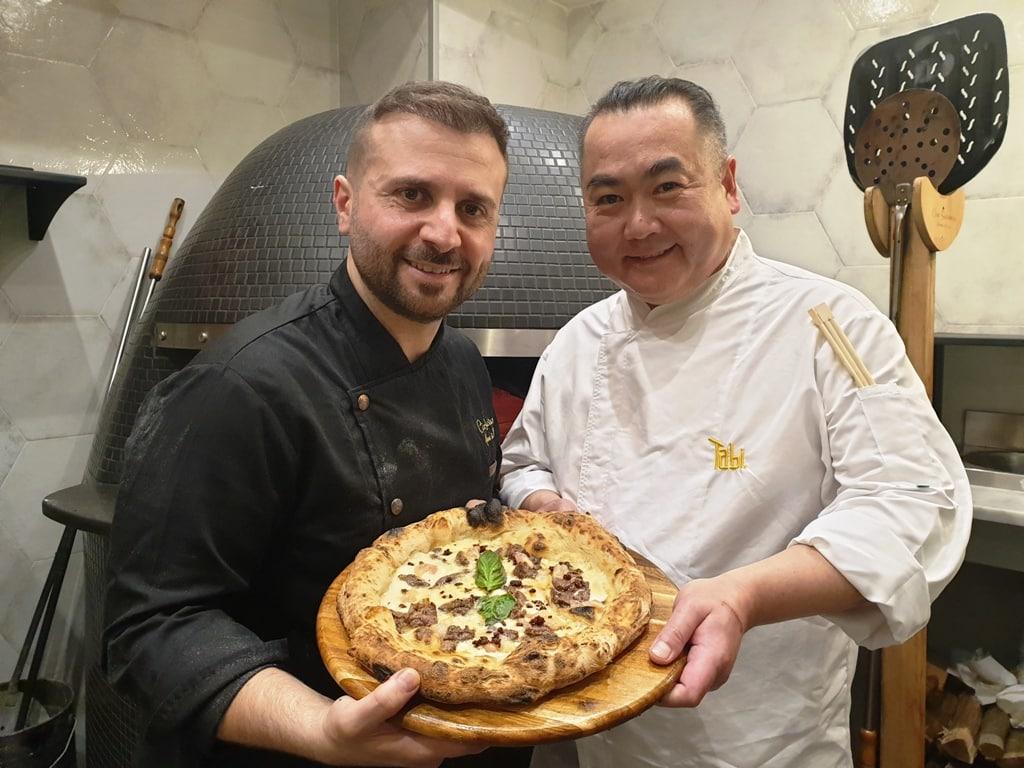 """Ciro Savarese in """"Anema, pizza...e fusion"""""""