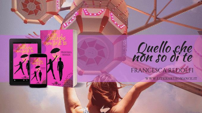Quello che non so dite, il secondo romanzo di Francesca Redolfi
