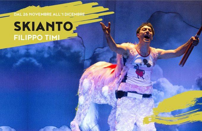 Lo Skianto di Filippo Timi al Teatro Bellini