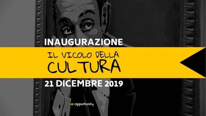 Il Vicolo della Cultura, il primo in Italia al Rione Sanità