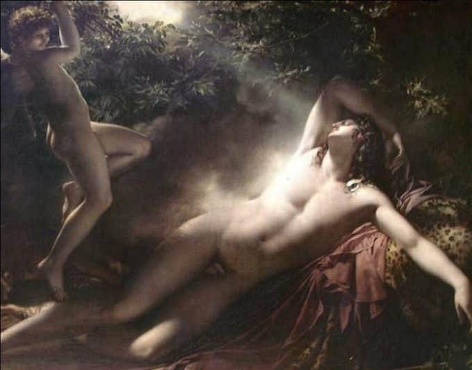 Endimione: il giovane stretto nel sonno dalla Luna