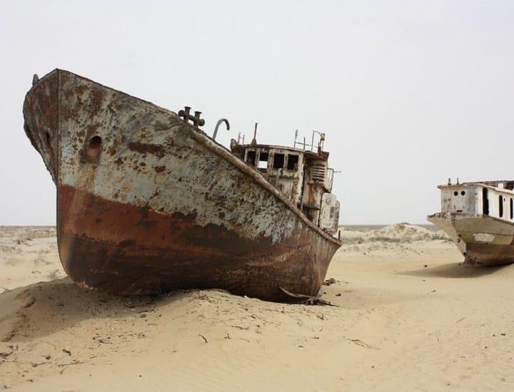 Il lago d'Aral e il disastro programmato
