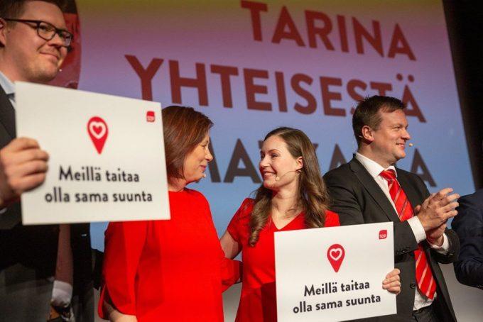 Sanna Marin, la premier finlandese più giovane al mondo