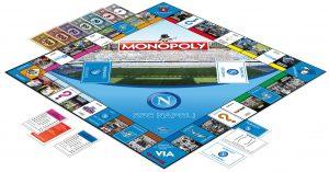 Monopoly si tinge d'azzurro. Nasce il MONOPOLY in limited edition per la SSC NAPOLI.