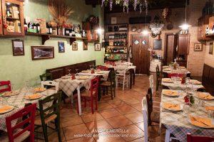 Degustazione alla cieca da VinoRosso Osteria-Enoteca il 19 febbraio