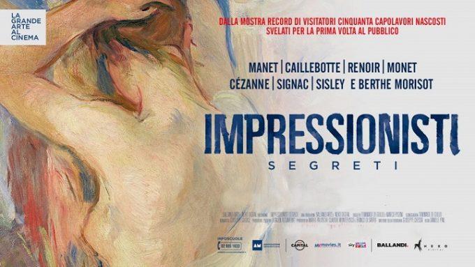Il docu-film Impressionisti segreti di Daniele Pini