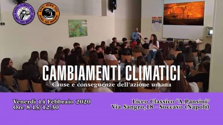 Napoli Animal Save e Napoli Climate Save al Liceo Pansini   Intervista