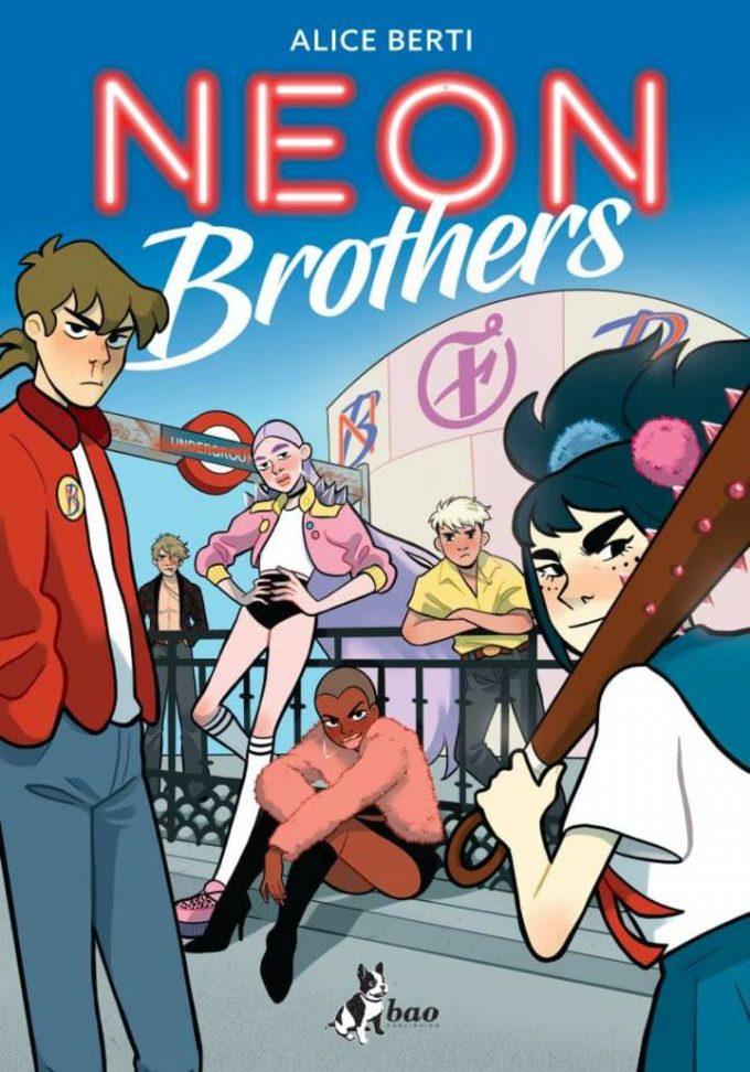 Alice Berti disegnatrice di Neon Brothers: il futuro a fumetti