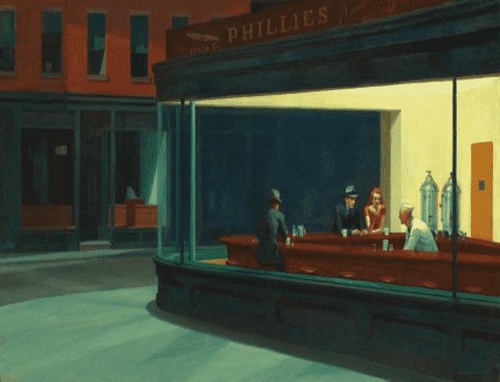 Nighthawks di Hopper