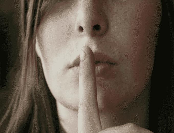 Il silenzio come arma