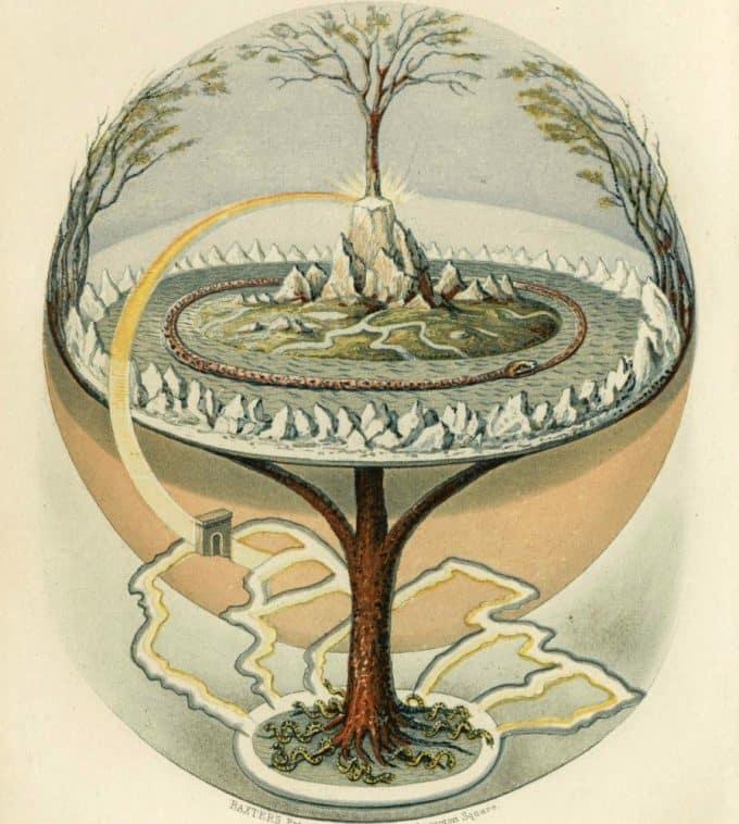 Yggdrasil: l'albero cosmico della mitologia norrena