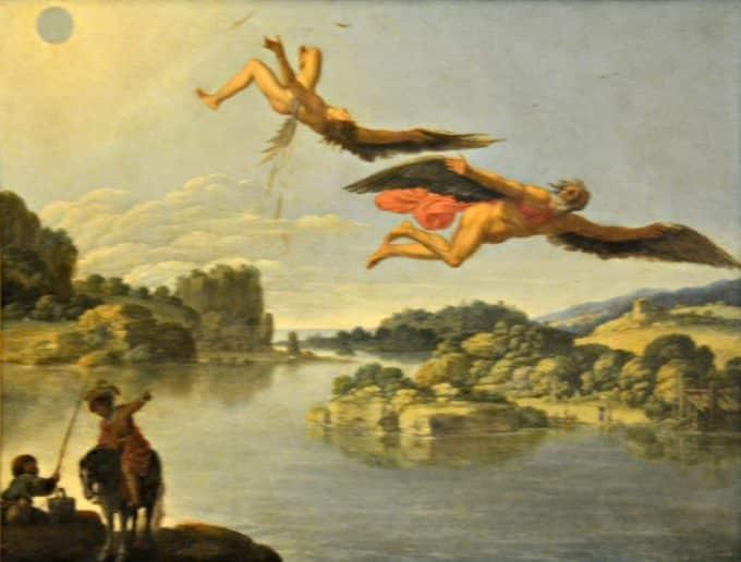 Icaro: un mito di uomini che sognano di volare