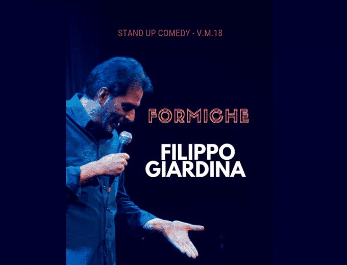 Filippo Giardina presenta Formiche a Napoli
