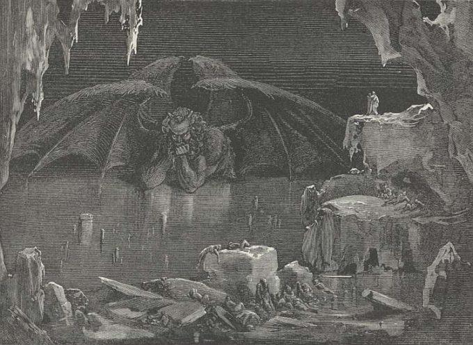 Lucifero (secondo Dante)