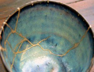 Kintsugi: l'arte giapponese della riparazione