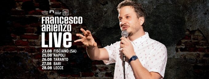 Francesco Arienzo live al Lanificio 25: un ragazzo sensibile