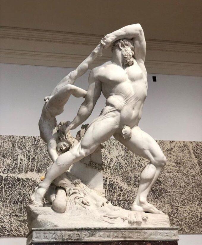 Ercole e Lica: la scultura di Canova che ha proclamato la sua grandezza