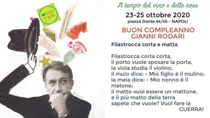 """Il tempo del vino e delle rose presenta """"Gianni Rodari a colazione e a merenda"""""""