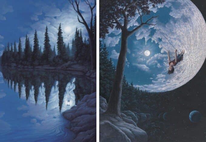 Rob Gonsalves e il realismo magico