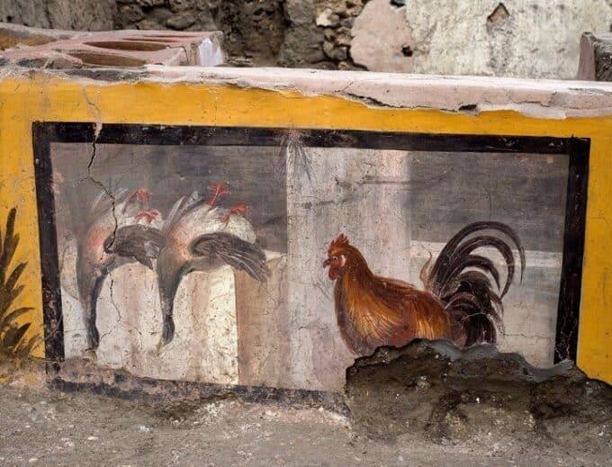 Pompei continua a sorprendere: riemerge un Thermopolium