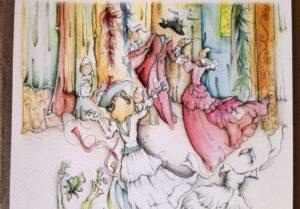 L'artista Andrea Maresca a sostegno di Canzanella: 100 disegni per dare una mano alla storica sartor...