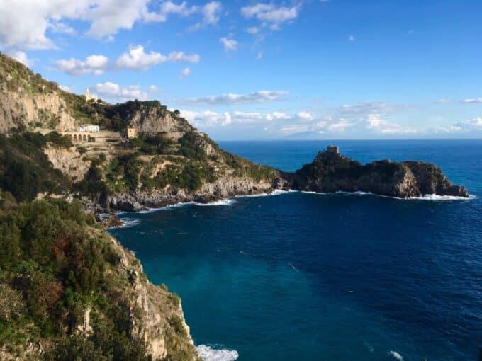 Le scale che portano al paradiso: Conca dei Marini