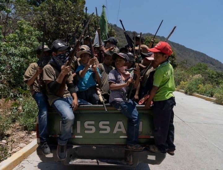 Guerrero: la regione dei bambini soldato in Messico