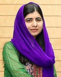 Malala Yousafzai censurata