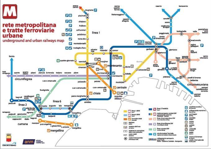 Linee metropolitane di Napoli: orari, prezzi e curiosità