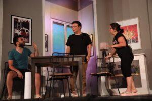 Paco De Rosa torna a teatro, l'attore tra i protagonisti di: Vita, ovvero la tempesta perfetta