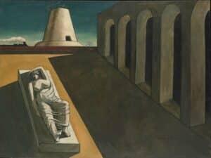 Pittura metafisica: il silenzio dell'assurdo