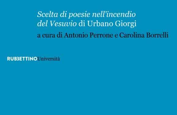 Scelta di poesie nell'incendio del Vesuvio